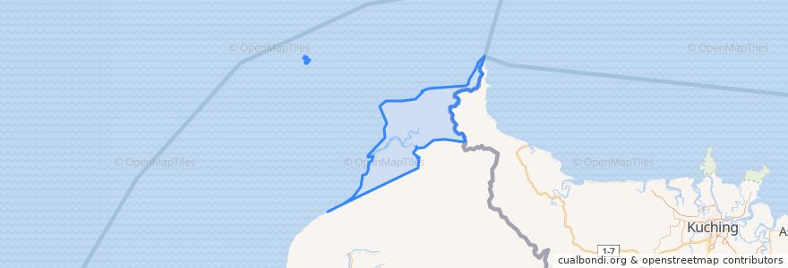 Mapa de ubicacion de Paloh.