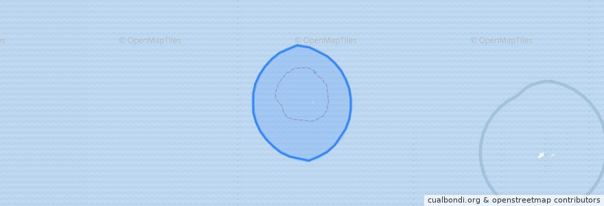 Mapa de ubicacion de United States of America (Kure Island).
