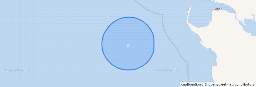 Mapa de ubicacion de United States of America (King Island).