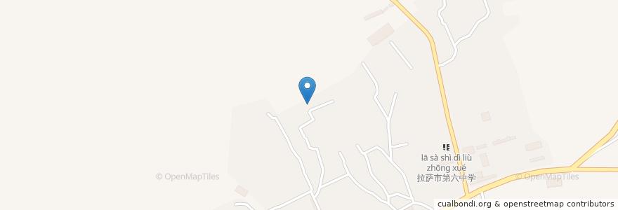 Mapa de ubicacion de 金珠西路街道 en 中国, 西藏自治区, ལྷ་ས་གྲོང་ཁྱེར་ / 拉萨市 / Lhasa, ཁྲིན་ཀོན་ཆུས་ / 城关区 / Chengguan, 金珠西路街道.