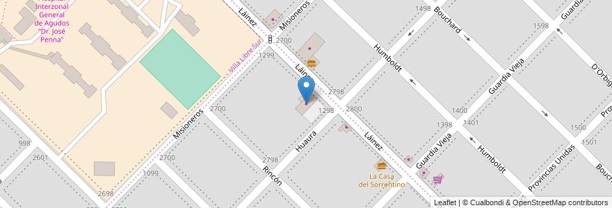 Mapa de ubicacion de Almafuerte en Argentina, Buenos Aires, Partido De Bahía Blanca, Bahía Blanca.