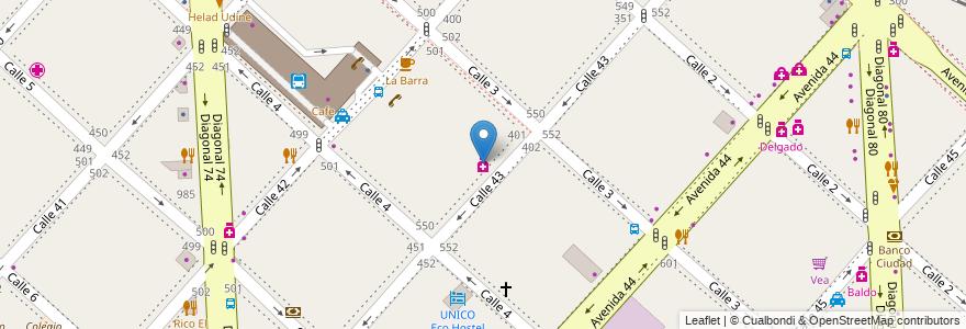 Mapa de ubicacion de Aloy, Casco Urbano en La Plata, Partido De La Plata, Buenos Aires, Argentina.