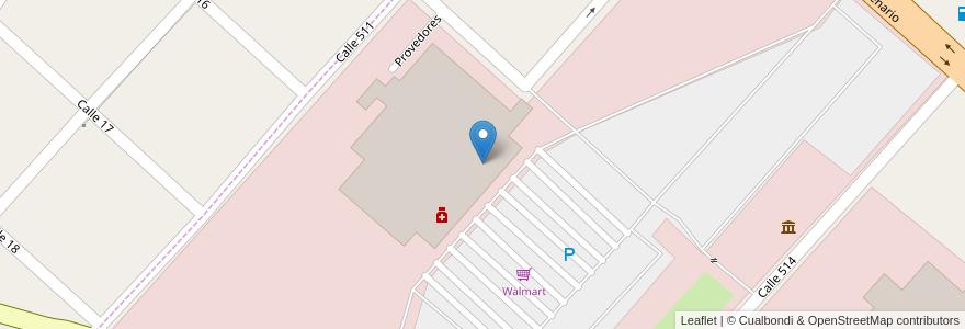 Mapa de ubicacion de Athena Bitcoin ATM, Ringuelet en Ringuelet, Partido De La Plata, Buenos Aires, Argentina.