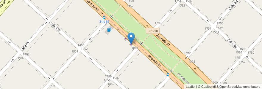 Mapa de ubicacion de Auto Check, Los Hornos en Los Hornos, Partido De La Plata, Buenos Aires, Argentina.