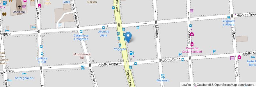 Mapa de ubicacion de Bachillerato con Orientación Artística 04 Xul Solar, Balvanera en Argentina, Ciudad Autónoma De Buenos Aires, Comuna 3, Buenos Aires.