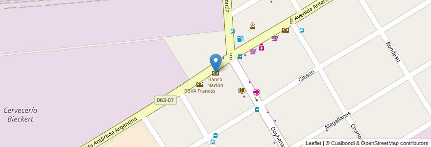 Mapa de ubicacion de Banco Nación en Argentina, Buenos Aires, Partido De Lomas De Zamora, Llavallol.