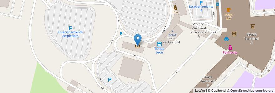 Mapa de ubicacion de Banco Nación en Argentina, Buenos Aires, Partido De Ezeiza, Aeropuerto Internacional Ezeiza.