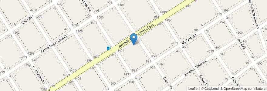 Mapa de ubicacion de Bomberos Voluntarios de Villa La Florida en Argentina, Buenos Aires, Partido De Quilmes, Villa La Florida.