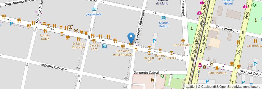 Mapa de ubicacion de Burgery en Argentina, Chile, Mendoza, Departamento Capital, Sección 5ª Residencial Sur, Ciudad De Mendoza.