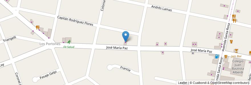 Mapa de ubicacion de Campechano en Argentina, Buenos Aires, Partido De Ituzaingó, Ituzaingó.