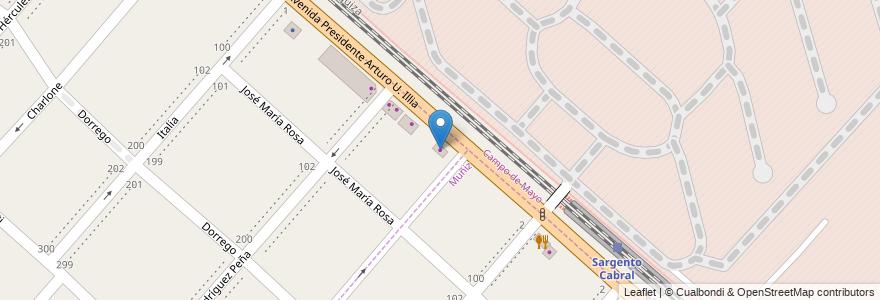 Mapa de ubicacion de Casa Upanqui en Argentina, Buenos Aires, Partido De San Miguel.