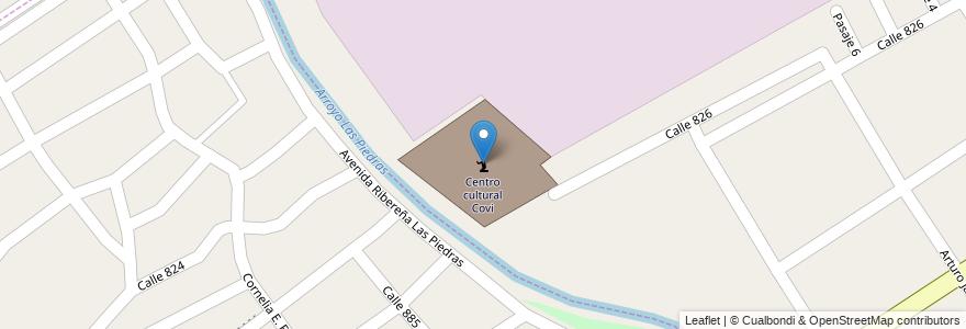 Mapa de ubicacion de Centro cultural Covi en Argentina, Buenos Aires, Partido De Quilmes, Villa La Florida.