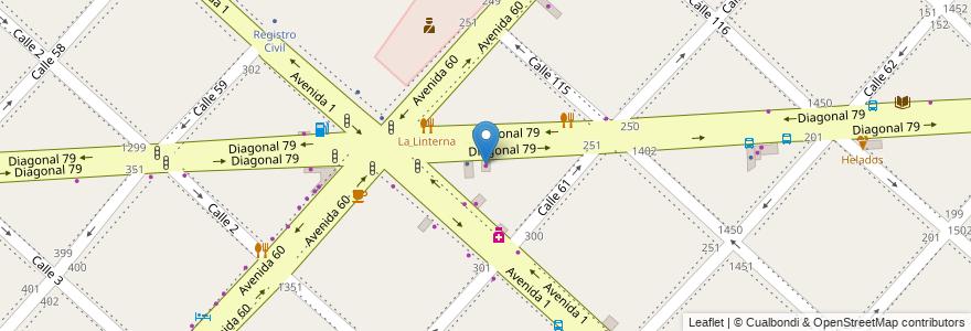 Mapa de ubicacion de Centro de Copiado Master's, Casco Urbano en Argentina, Buenos Aires, Partido De La Plata, La Plata.