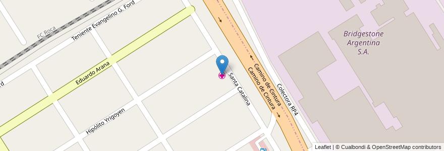 Mapa de ubicacion de Centro Municipal de Rehabilitación en Luis Guillón, Partido De Esteban Echeverría, Buenos Aires, Argentina.