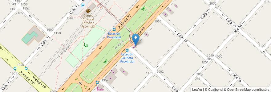 Mapa de ubicacion de Cerrajería, Altos de San Lorenzo en Argentina, Buenos Aires, Partido De La Plata, Altos De San Lorenzo.