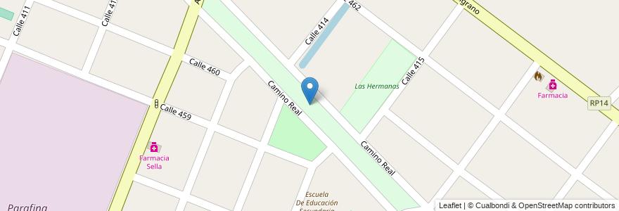 Mapa de ubicacion de Circuito de ciclismo Argentino Rios en Argentina, Buenos Aires, Partido De Berazategui, Juan María Gutiérrez.