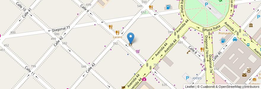 Mapa de ubicacion de Circus Eventos, Casco Urbano en La Plata, Partido De La Plata, Buenos Aires, Argentina.