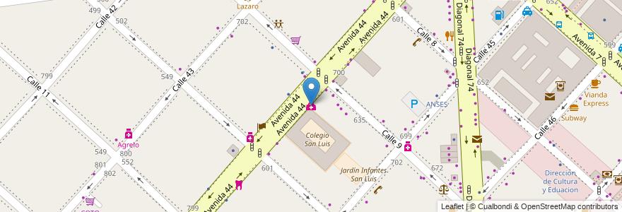 Mapa de ubicacion de Cirurgia Plastica & Estética, Casco Urbano en La Plata, Partido De La Plata, Buenos Aires, Argentina.