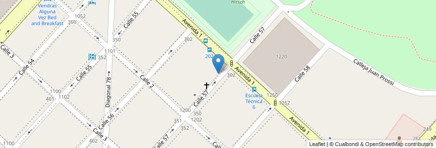 Mapa de ubicacion de Colegio Nuestra Señora del Valle, Casco Urbano en La Plata, Partido De La Plata, Buenos Aires, Argentina.
