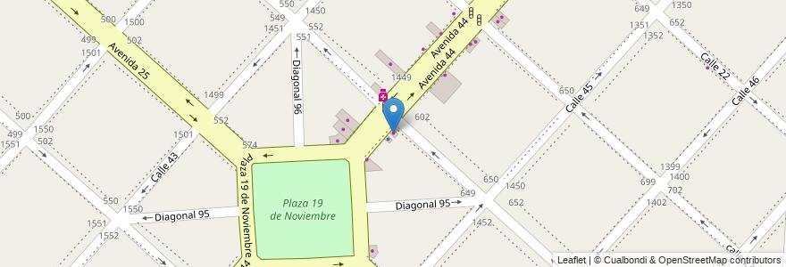Mapa de ubicacion de Color Shop, Casco Urbano en Argentina, Buenos Aires, Partido De La Plata, La Plata.