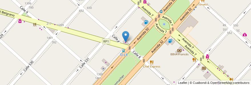 Mapa de ubicacion de Colorshop, Tolosa en Argentina, Buenos Aires, Partido De La Plata.