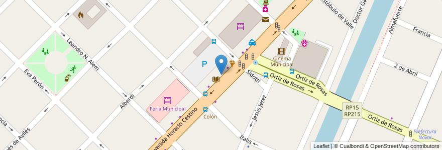 Mapa de ubicacion de Comisaría Primera en Partido De Ensenada, Buenos Aires, Argentina.