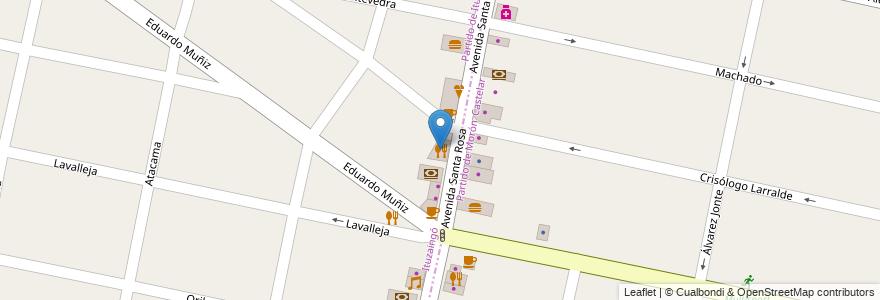 Mapa de ubicacion de Contámelo Todo en Argentina, Buenos Aires, Partido De Ituzaingó, Ituzaingó.