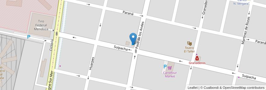 Mapa de ubicacion de Copec en Argentina, Chile, Mendoza, Departamento Capital, Ciudad De Mendoza.