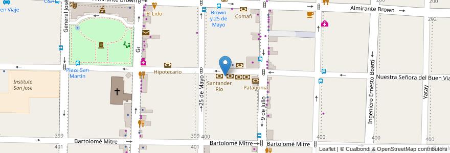 Mapa de ubicacion de Credicoop en Morón, Partido De Morón, Buenos Aires, Argentina.