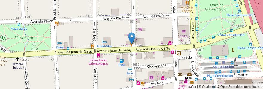 Mapa de ubicacion de Cremolatti, Constitucion en Buenos Aires, Ciudad Autónoma De Buenos Aires, Argentina.