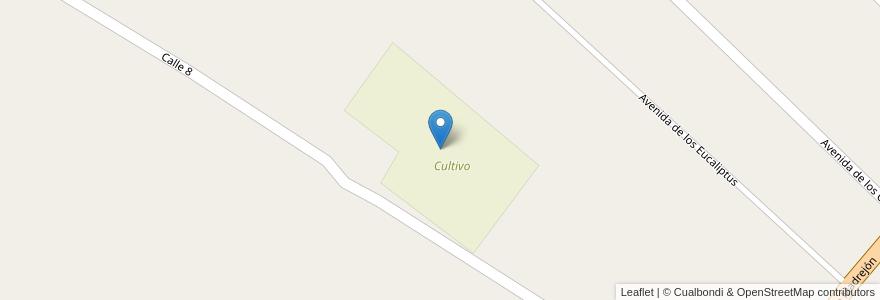 Mapa de ubicacion de Cultivo en Argentina, Santa Fe, Departamento La Capital, Municipio De Arroyo Leyes.