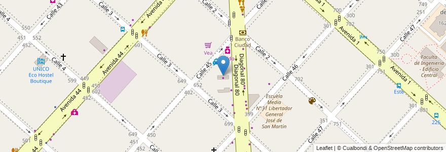 Mapa de ubicacion de Cumbreño, Casco Urbano en Argentina, Buenos Aires, Partido De La Plata, La Plata.