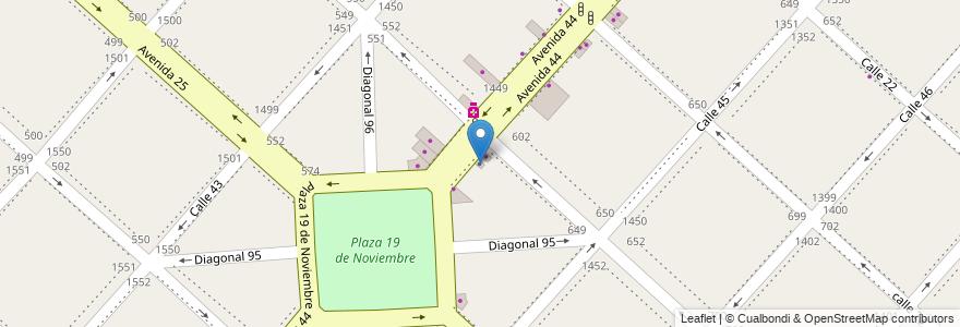 Mapa de ubicacion de de Pinaga Inmobilaria, Casco Urbano en Argentina, Buenos Aires, Partido De La Plata, La Plata.