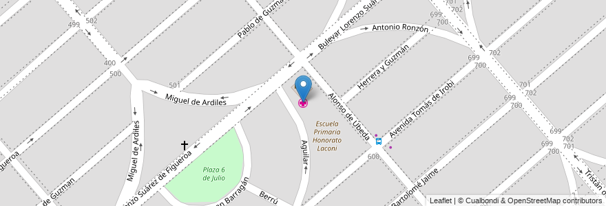 Mapa de ubicacion de Dispensario Marques de Sobremonte en Córdoba, Municipio De Córdoba, Pedanía Capital, Departamento Capital, Córdoba, Argentina.