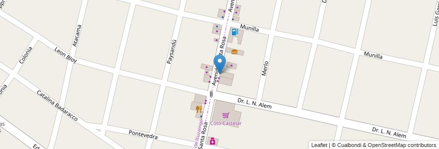 Mapa de ubicacion de Don Antonio en Argentina, Buenos Aires, Ituzaingó.