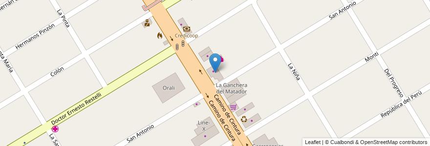 Mapa de ubicacion de Don Nino en Argentina, Buenos Aires, Partido De Esteban Echeverría, 9 De Abril.