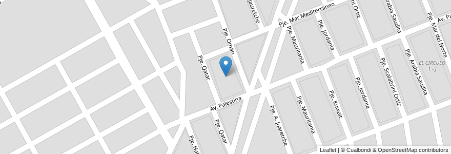 Mapa de ubicacion de DON SANTIAGO - K _1 en Argentina, Salta, Capital, Municipio De Salta, Salta.