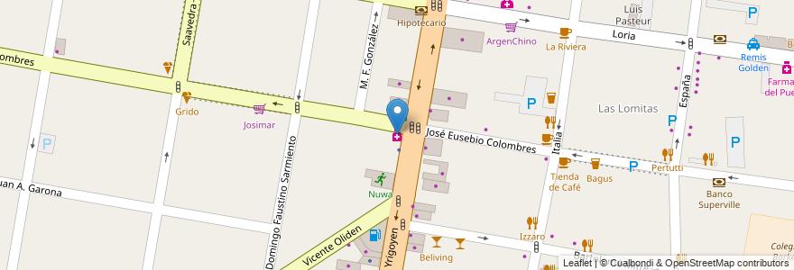 Mapa de ubicacion de Econofarma en Argentina, Buenos Aires, Partido De Lomas De Zamora, Lomas De Zamora.