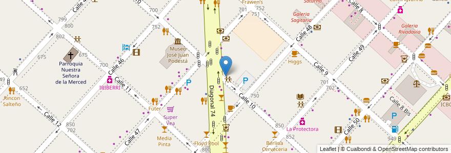 Mapa de ubicacion de El Indio S.C.S., Casco Urbano en Argentina, Buenos Aires, Partido De La Plata, La Plata.