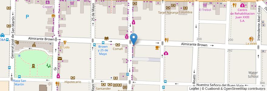 Mapa de ubicacion de En Fotografia en Argentina, Buenos Aires, Partido De Morón, Morón.