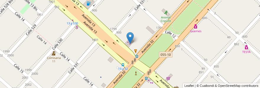 Mapa de ubicacion de ERV Climatización, Tolosa en Partido De La Plata, Buenos Aires, Argentina.