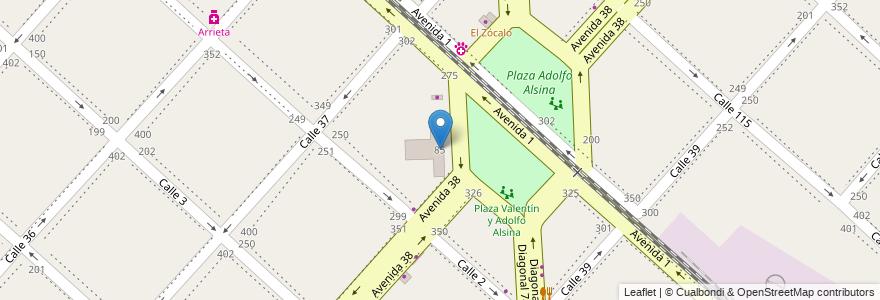 Mapa de ubicacion de Escuela Educación Media Nº6 - Republica de México, Casco Urbano en La Plata, Partido De La Plata, Buenos Aires, Argentina.
