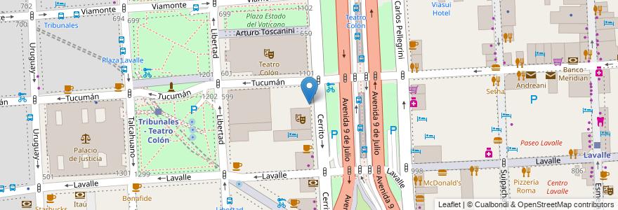 Mapa de ubicacion de Escuela Infantil Pulgarcito, San Nicolas en Buenos Aires, Ciudad Autónoma De Buenos Aires, Argentina.