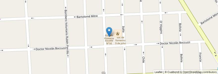 Mapa de ubicacion de Escuela Primaria en Argentina, Buenos Aires, Partido De Florencio Varela, Florencio Varela.