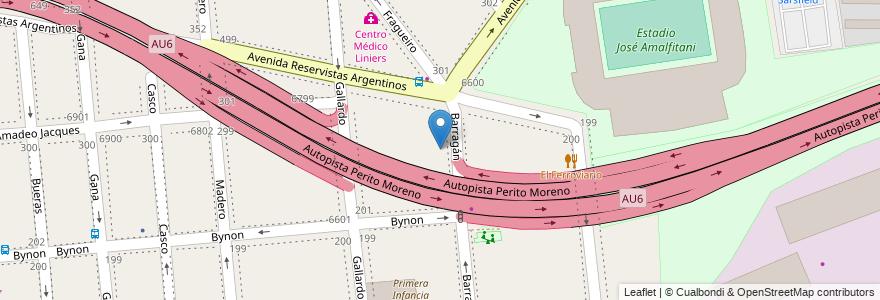 Mapa de ubicacion de Escuela Primaria Común 20 Mariano Sánchez de Loria, Versalles en Argentina, Ciudad Autónoma De Buenos Aires, Buenos Aires, Comuna 10.