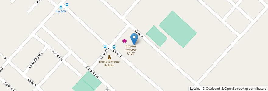 Mapa de ubicacion de Escuela Secundaria N° 28, Villa Elvira en Argentina, Buenos Aires, Partido De La Plata, Villa Elvira.
