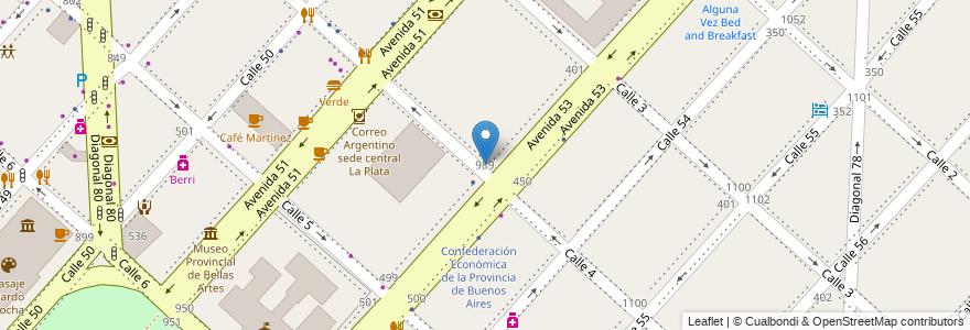 Mapa de ubicacion de Escuela Superior de Sanidad, Casco Urbano en La Plata, Partido De La Plata, Buenos Aires, Argentina.
