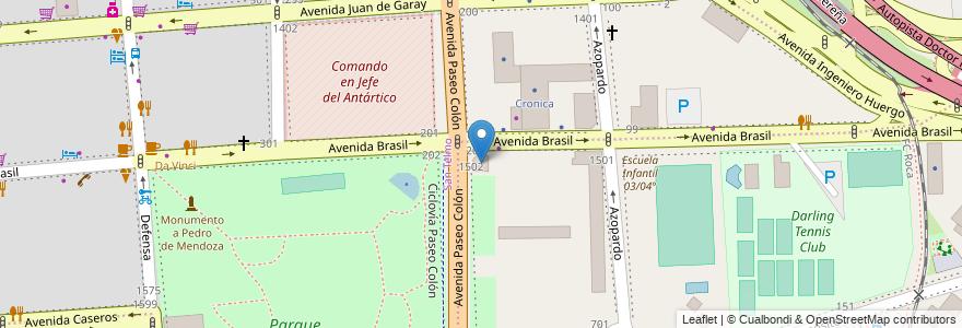 Mapa de ubicacion de Escuela Taller Arte Casco Historico, Boca en Argentina, Ciudad Autónoma De Buenos Aires, Comuna 1, Comuna 4, Buenos Aires.