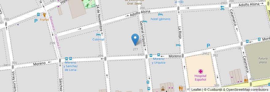 Mapa de ubicacion de ESEA en Danza Ramicone Curso Vocacional de Folklore 16, Balvanera en Argentina, Ciudad Autónoma De Buenos Aires, Comuna 3, Buenos Aires.