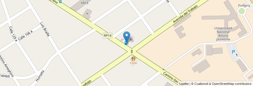 Mapa de ubicacion de Estación de Servicio Comunitaria MIJD en Florencio Varela, Partido De Florencio Varela, Buenos Aires, Argentina.